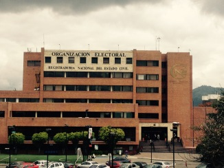 National Registry and Electoral Council, Colombia